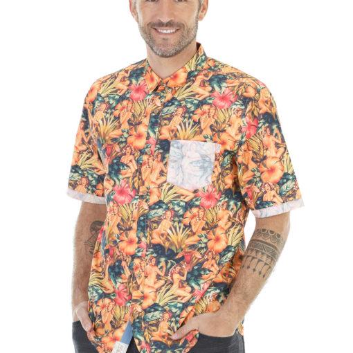 Chemise avec motifs sympa et fun
