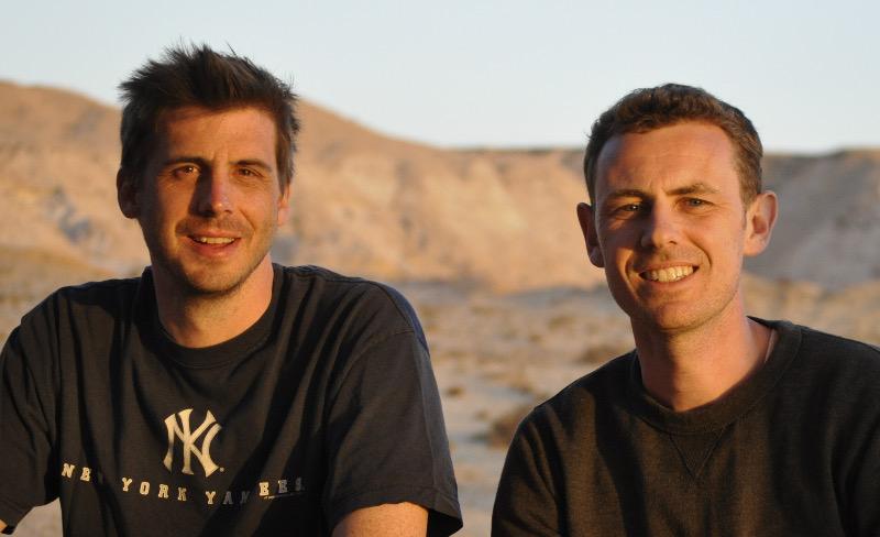 Photo des 2 fondateurs de la green session