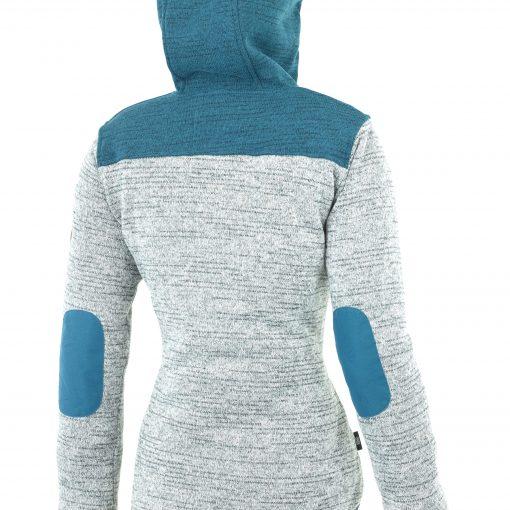 Veste technique fabriquée a partir de plastique recylclé