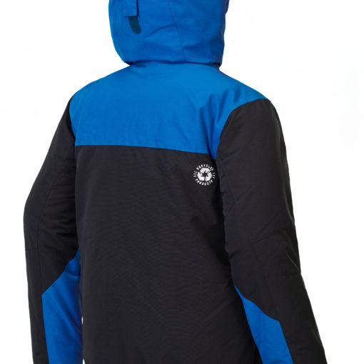 veste ski homme picture panel blue