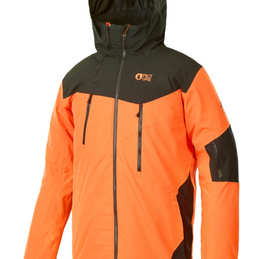 veste ski homme picture duncan orange