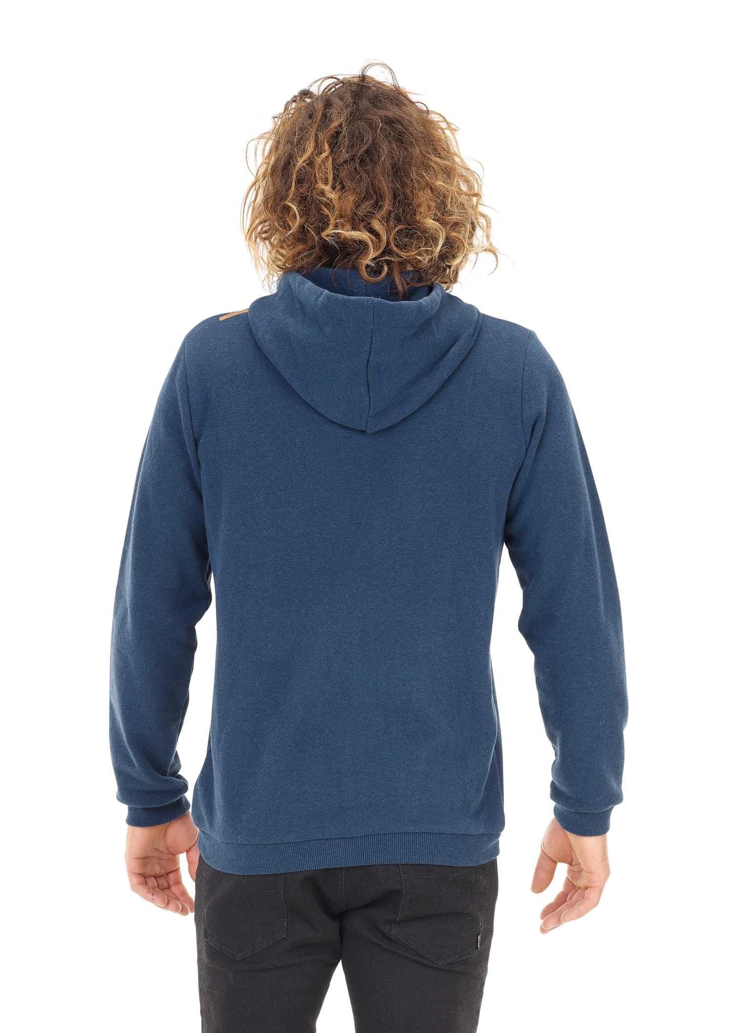 Sweat à capuche PICTURE Basement Zip Dark Blue