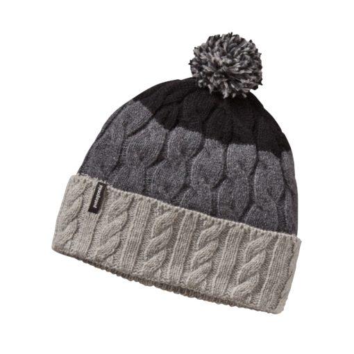 bonnet chaud laine et nylon recyclé
