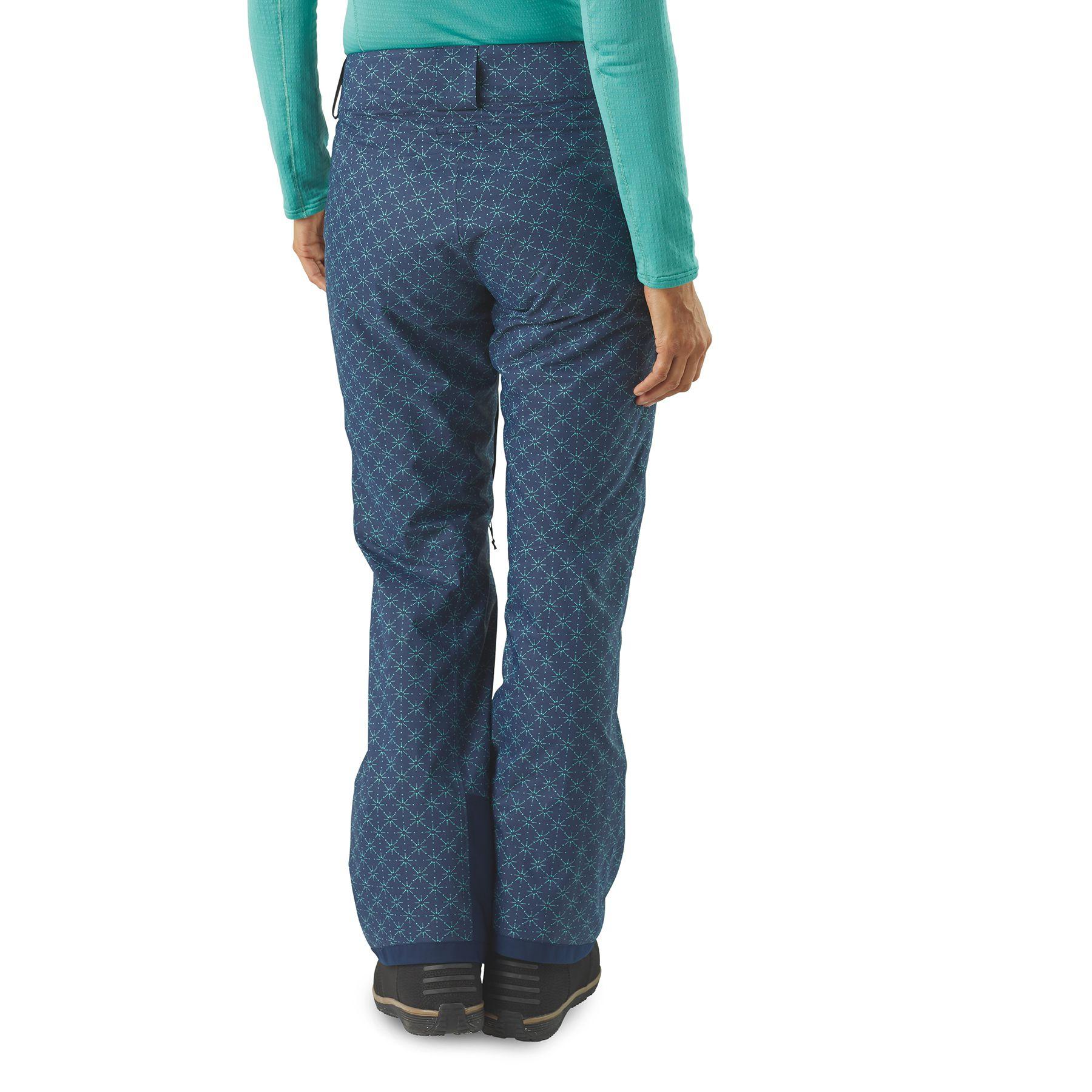 d8352abf6ba Pantalon ski PATAGONIA W s Insulated Snowbelle Dark Currant - La ...