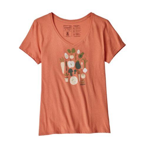 t-shirt femme coton bio patagonia