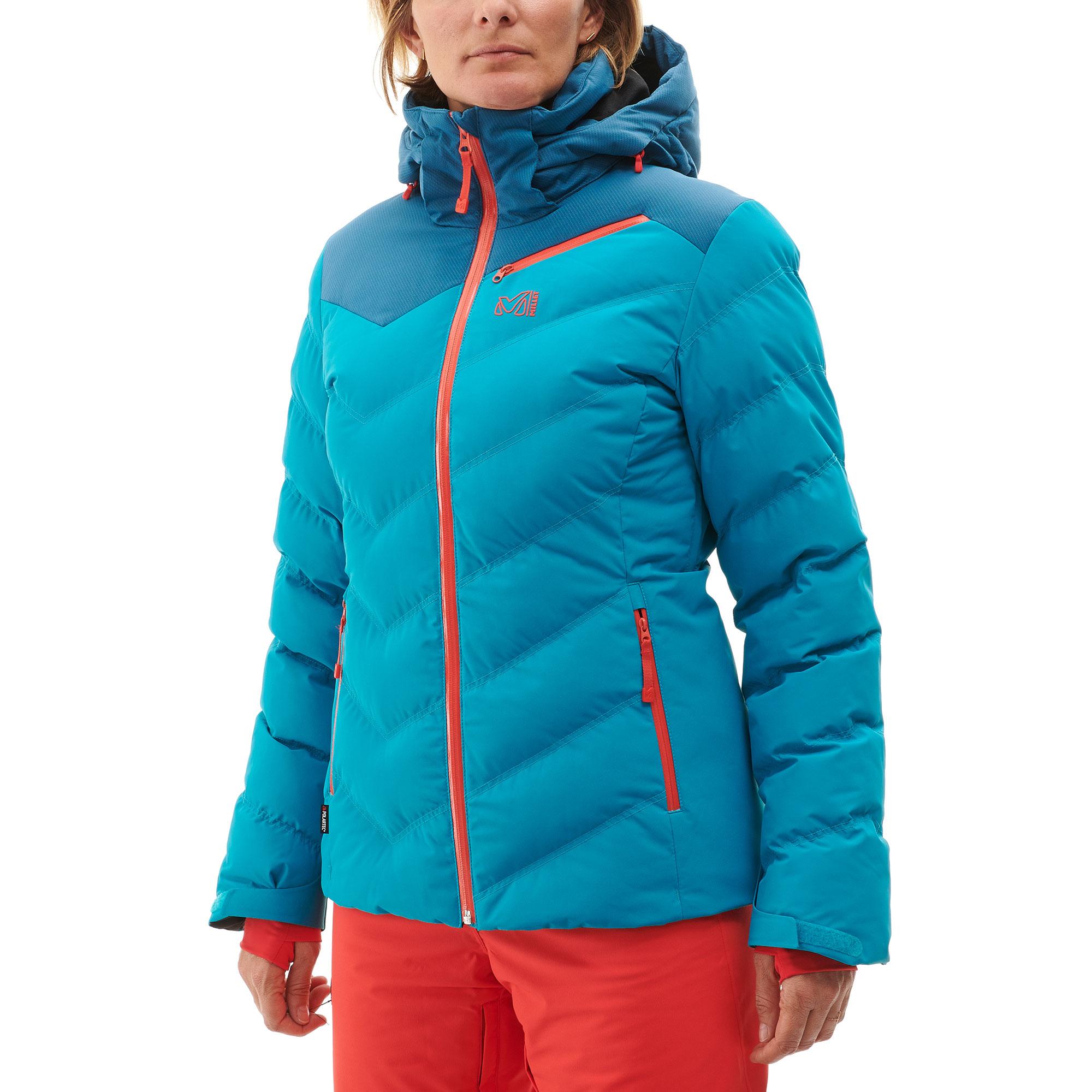 Veste de ski femme blanche pas cher
