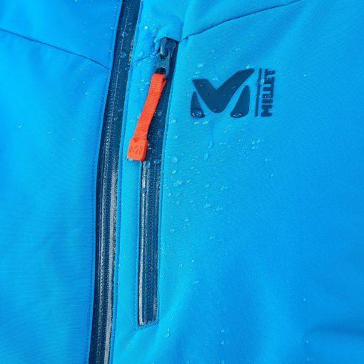 veste de ski bleu pour homme chaude