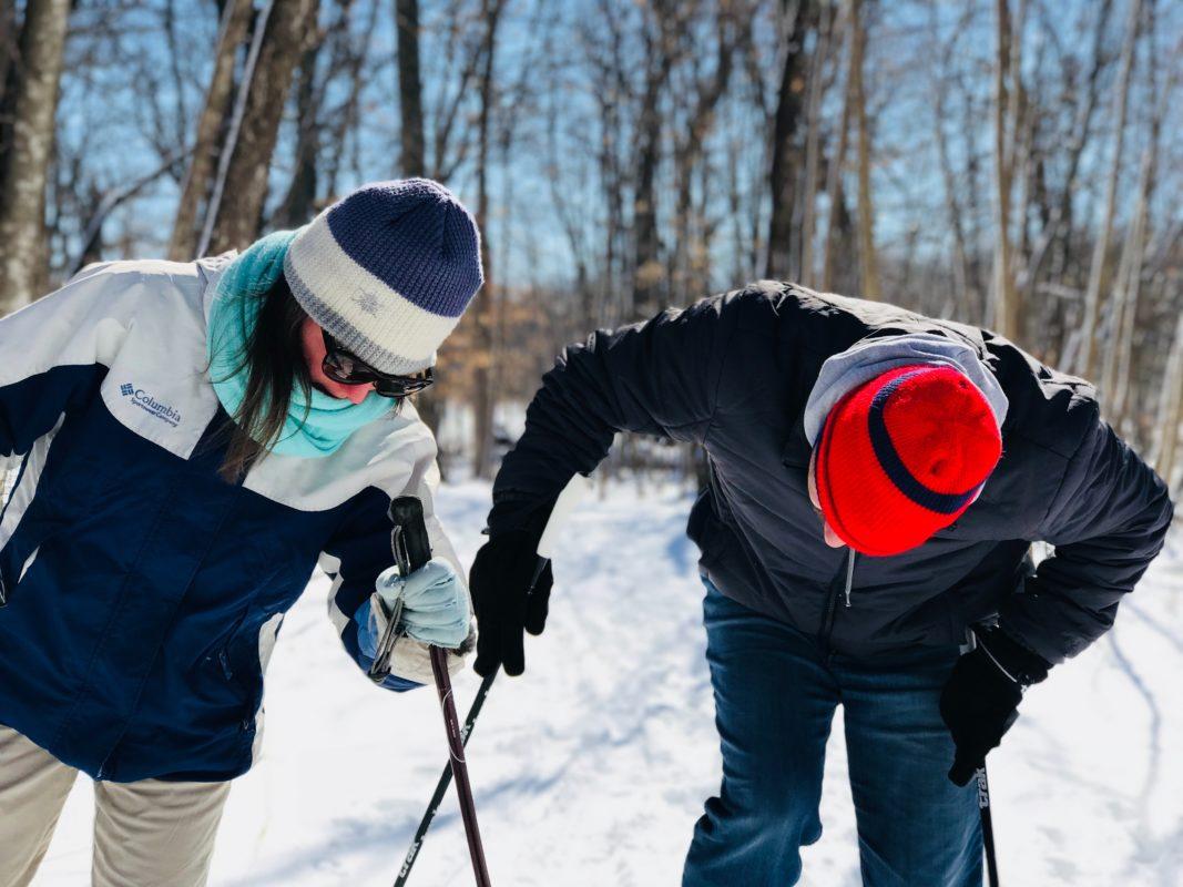 Couples au ski