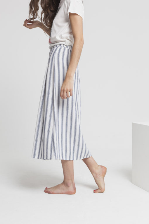juoe longue pour femme en coton et polyester recyclé