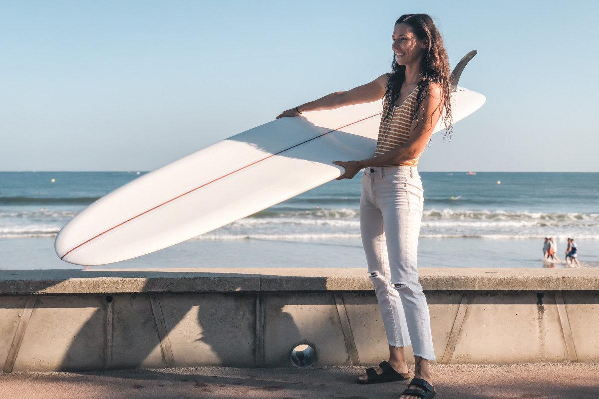lolita brisson du blog surf madame après session de surf