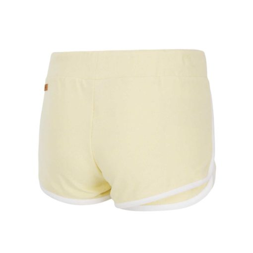 short pour femme jaune pale picture organic clothing