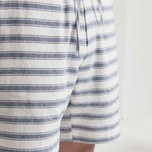 short pour homme en coton et polyester recyclé