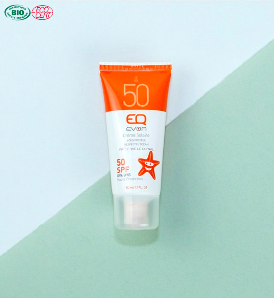 Crème solaire minérale EQ