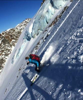 Descente en ski de Johanna Marcoz