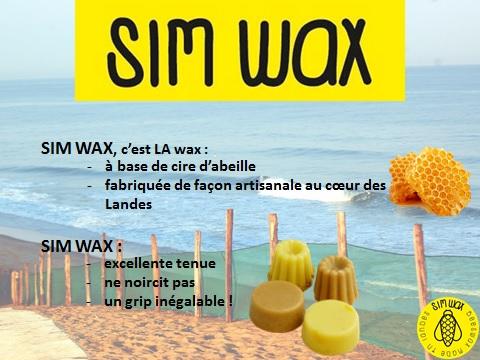 SIM WAX eco-responsable