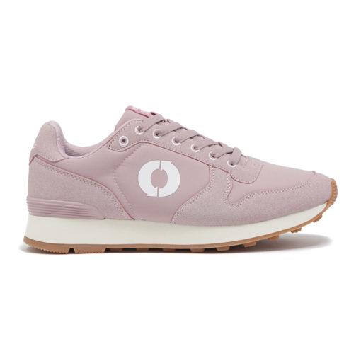 chaussures vegan rose pale ecoalf
