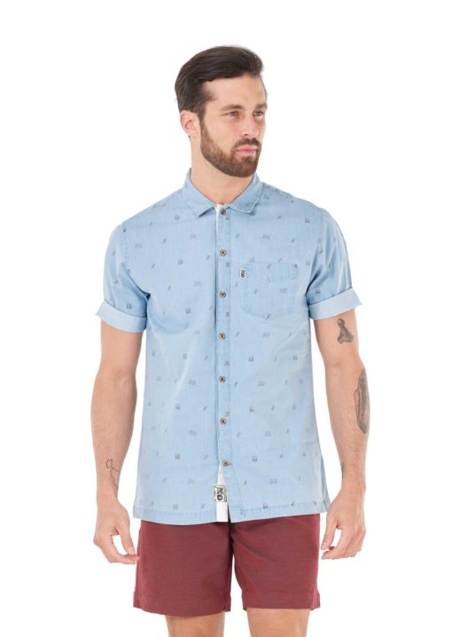 chemise manche courte homme picture