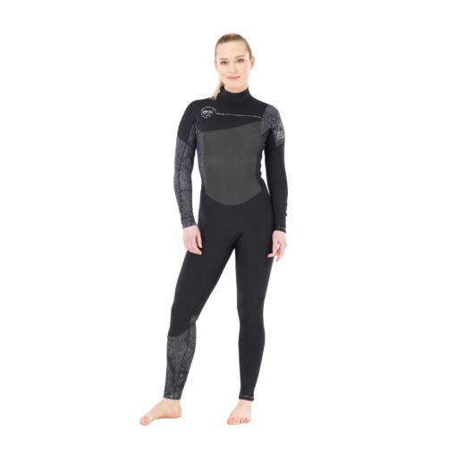 combinaison de surf femme chaude 4.3mm