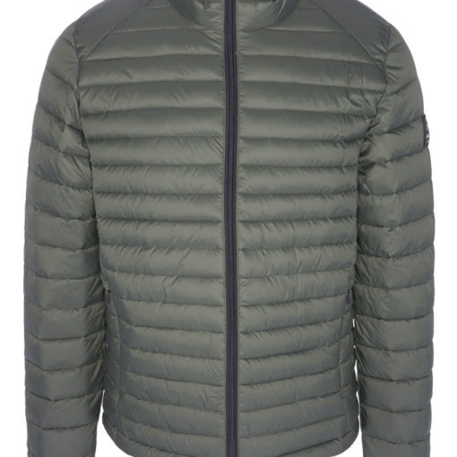 Manteau long ECOALF Livorno bleu marine La Green Session
