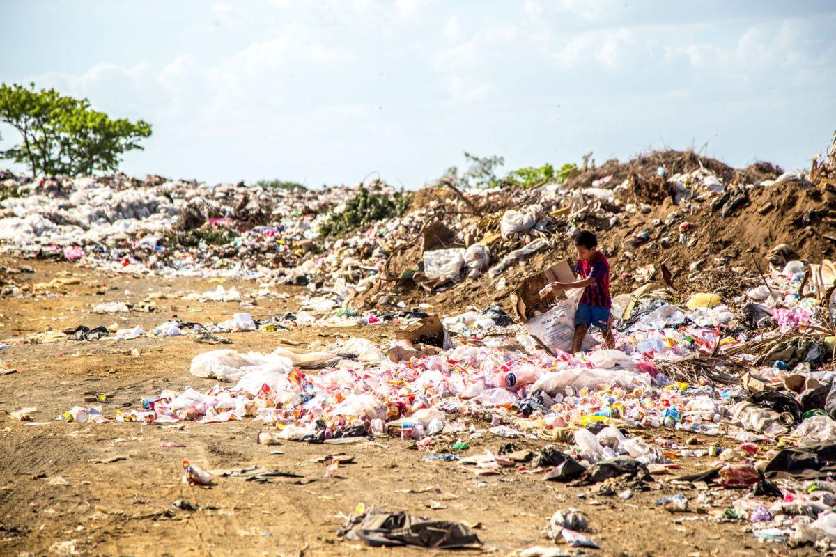plage de déchets