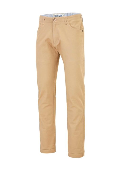 pantalon chino beige homme picture