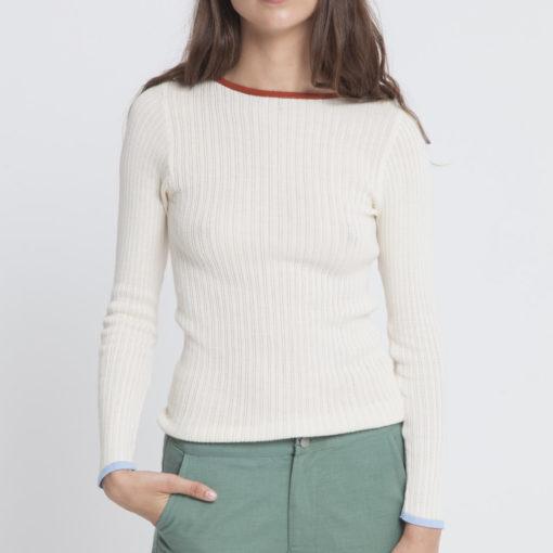 pantalon coton bio femme vert thinking mu
