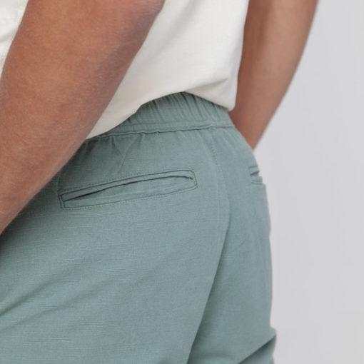 pantalon homme coton bio vert thinking mu