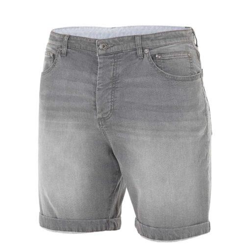 short jean homme picture gris