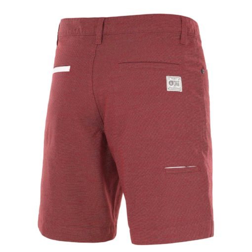 short homme bordeaux picture