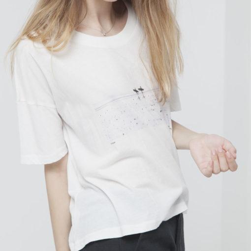 tshirt coton bio femme thinking mu