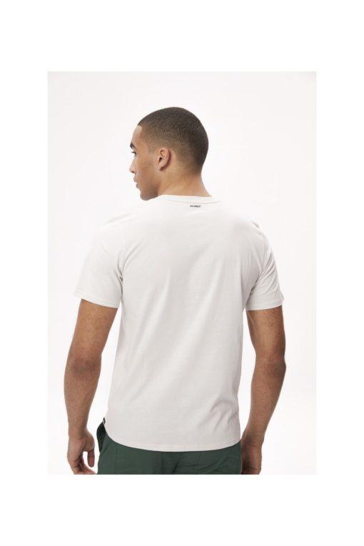 tshirt coton bio homme blanc ecoalf