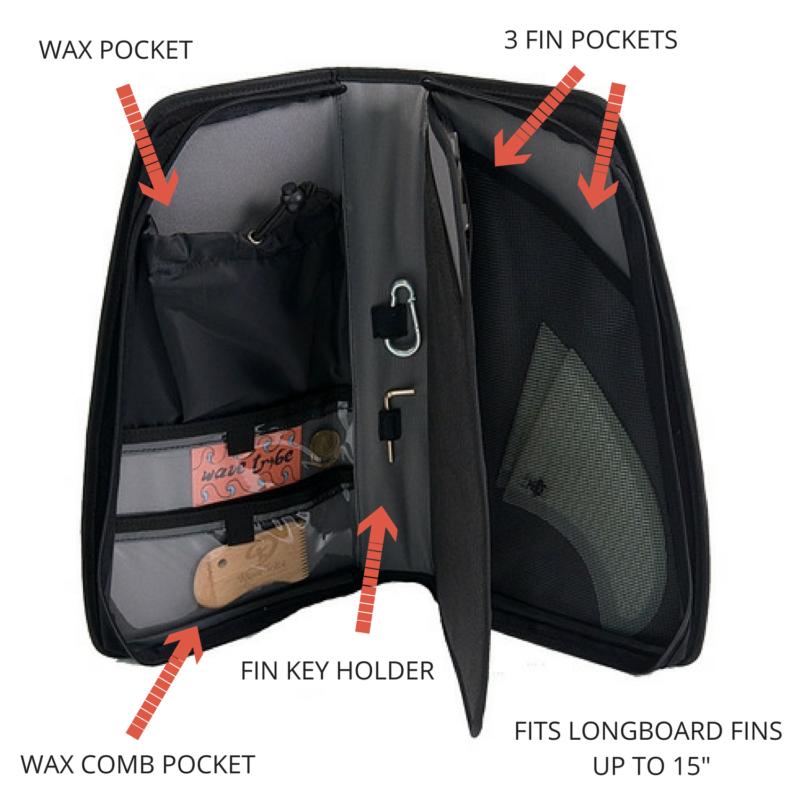 Pochette de rangement accessoires surf