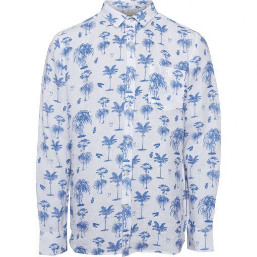 chemise en lin homme manche longue