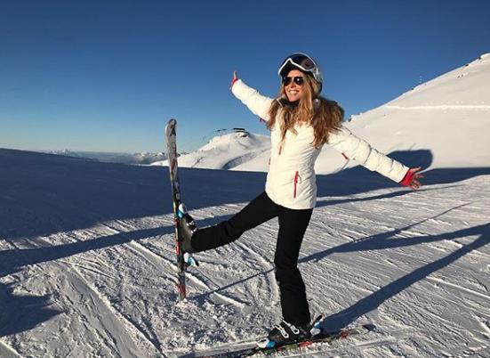 cyrielle sur des ski 2 - Rencontre avec Cyrielle Hariel, la journaliste au coeur Green.