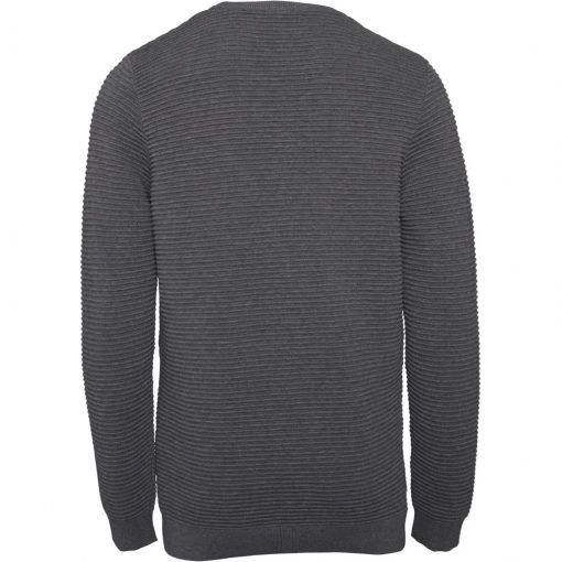 pull coton bio homme gris