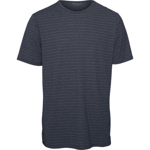 tshirt bio homme bleu marine