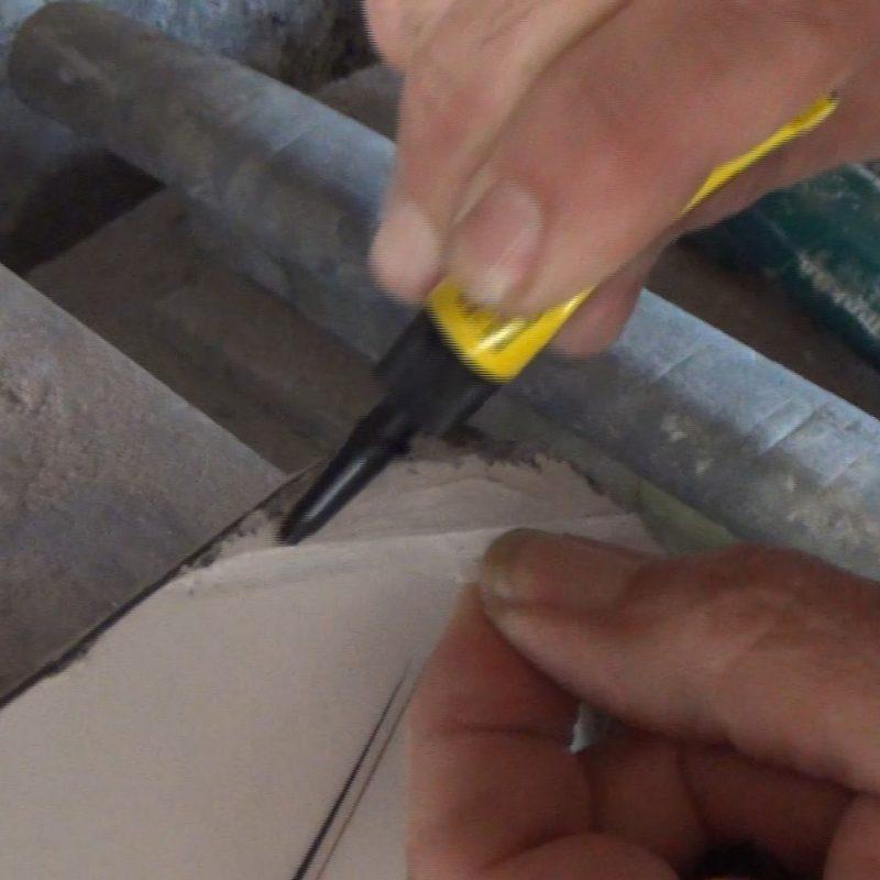 application colle réparation planche kitesurf
