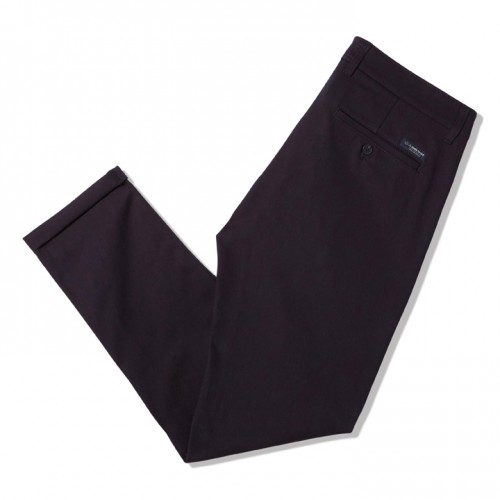 pantalon chino bleu marine coton bio