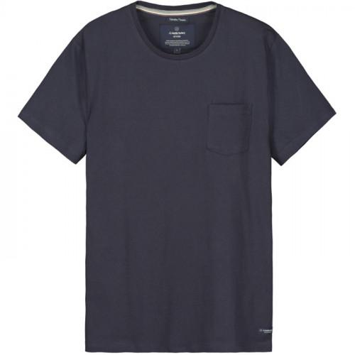 tshirt homme bleu marine coton bio la gentle factory