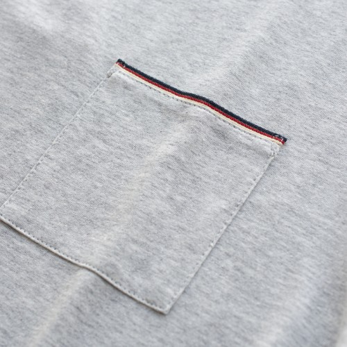 tshirt homme gris coton bio la gentle factory