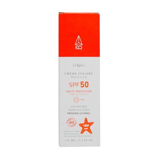 crème solaire minérale bio spf 50 EQ