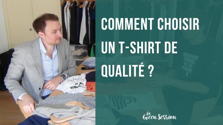 Tuto avec Benoit Wojtenka pour aider à choisir un t-shirt de qualité