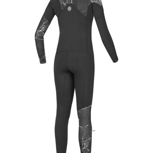 combinaison de surf femme 4/3mm front zip
