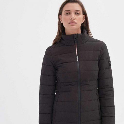 veste noire femme éco-responsable