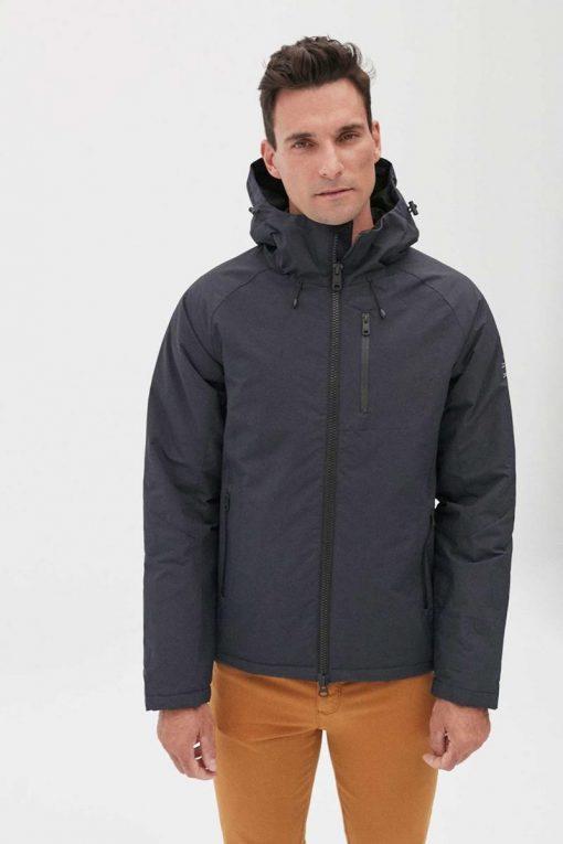 veste homme bleu marine ecoalf