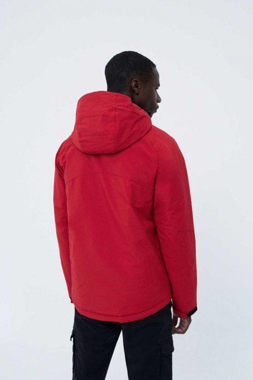veste homme rouge ecoalf