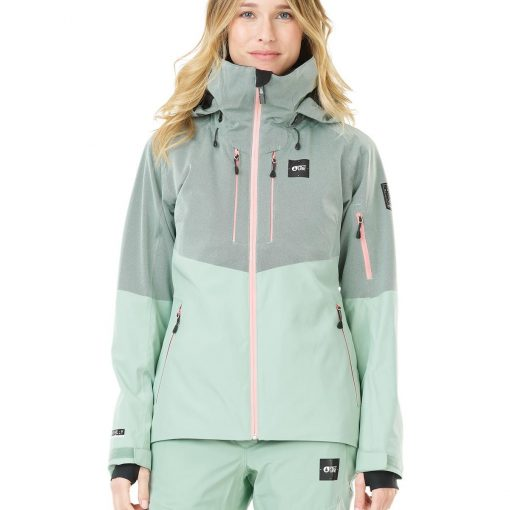 veste de ski femme verte picture