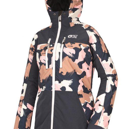 veste de ski femme picture lander print
