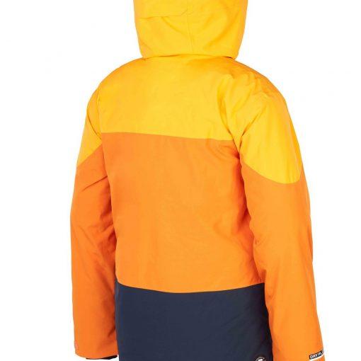 veste de ski homme picture jaune