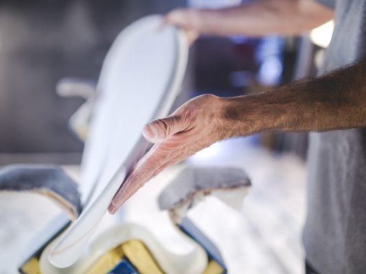 fabrication planche de surf